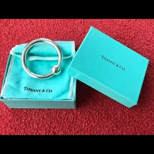 TIFFANY  1837 Collection Baby Rattle Ring